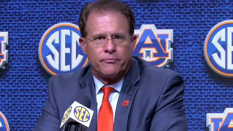 Gus Malzahn at SEC Media Days