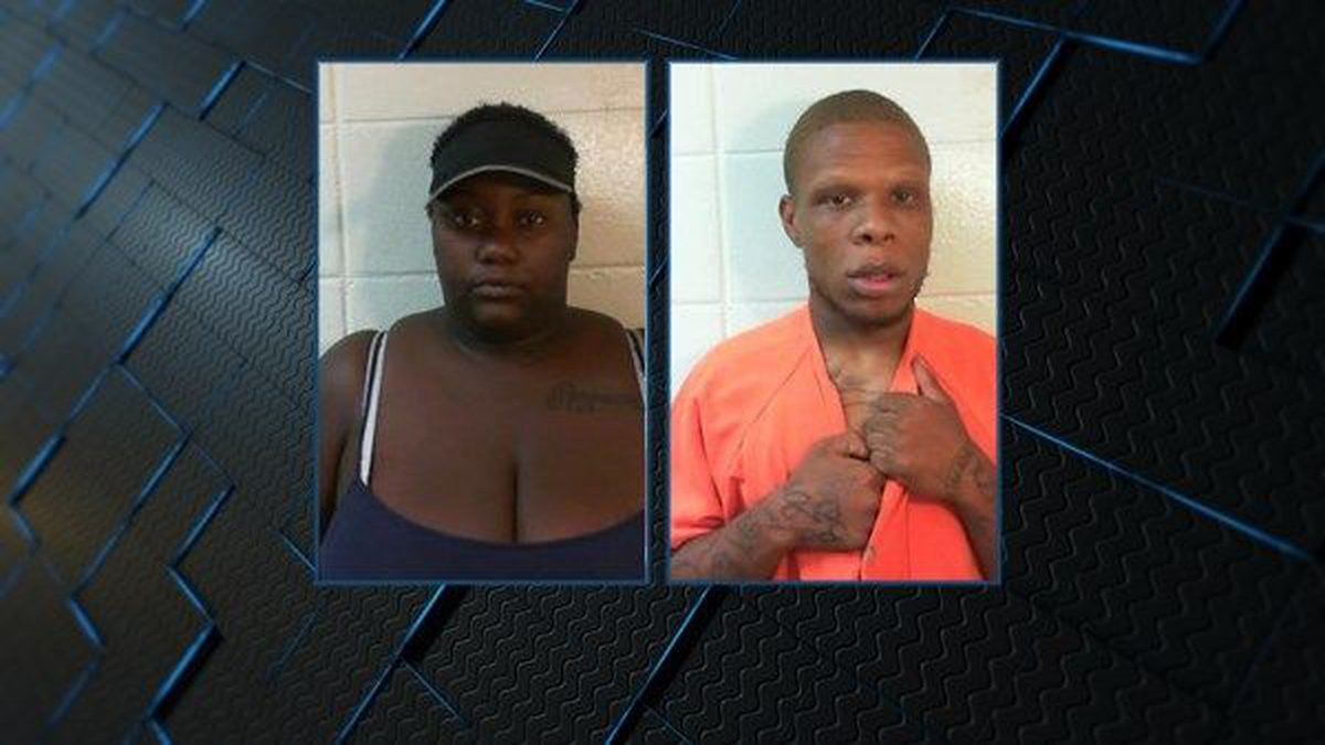 Diamond Brown (left) and Breon Richardson (right). (Source: Dale County Sheriff's Office)