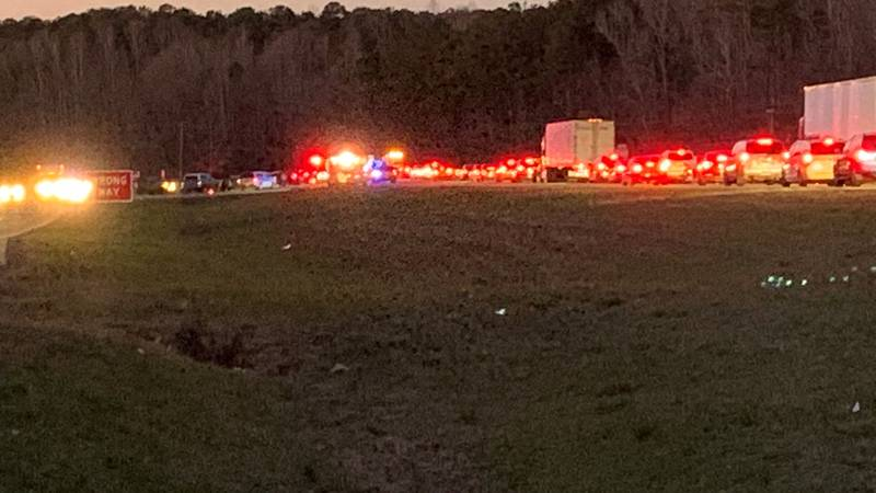 First responders on the scene of vehicle accident on Hwy. 280 near Opelika