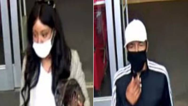 Opelika police searching for two card theft suspects seen on camera