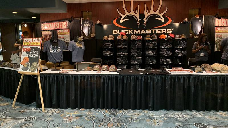 The Buckmasters Expo has kicked off this weekend from downtown Montgomery.