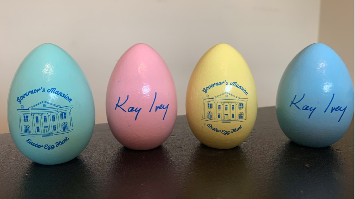 The Governor's Easter Egg Roll had to be cancelled, but Governor Ivey sent a surprise to those...