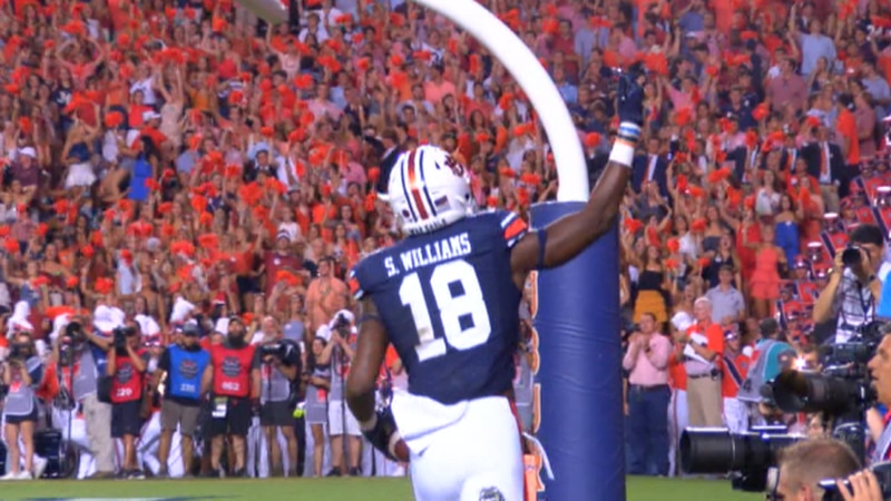 Seth Williams feels good about the direction the Auburn offense is heading in 2020.
