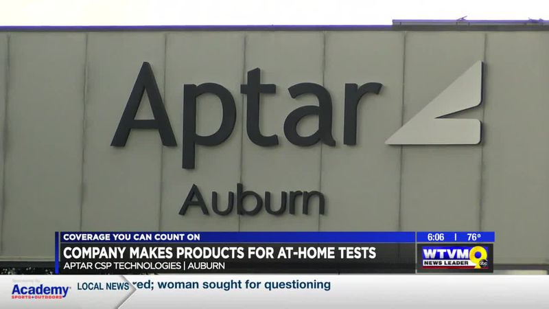 Technology from an Auburn-based materials company used in at-home COVID-19 tests