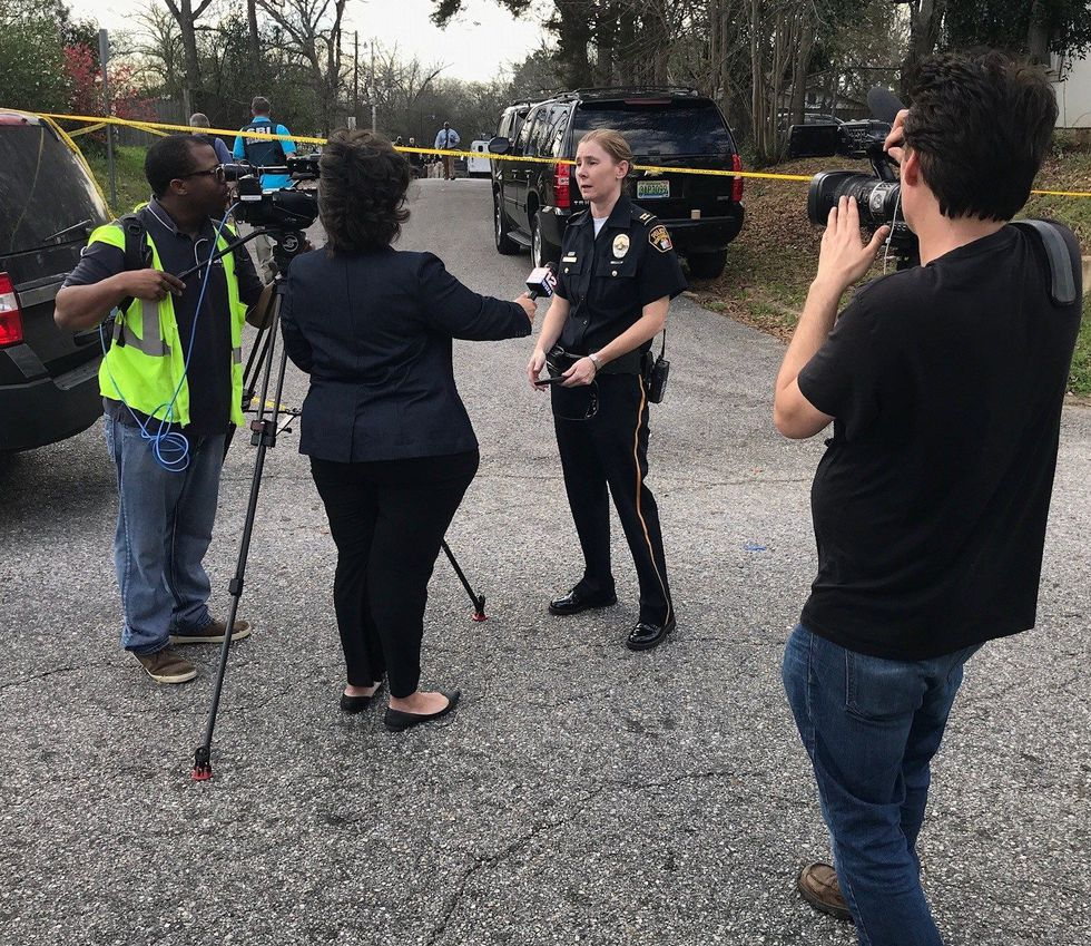 Captain Regina Duckett said an officer was shot and a suspect is dead after a shooting in west...