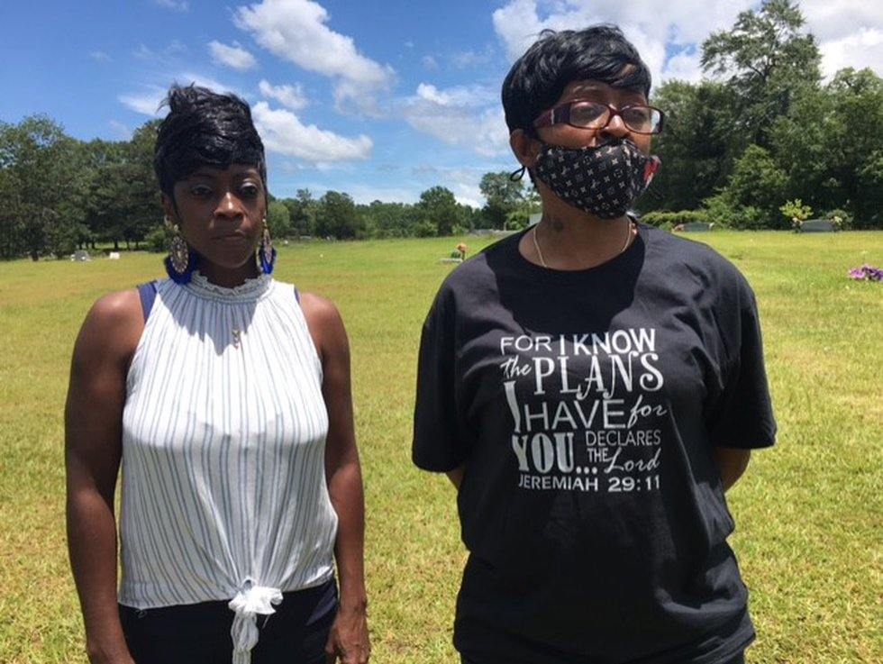 Patrina Gipson (L) and Inett Jackson Lewis (R) were attending a funeral when a vehicle with...