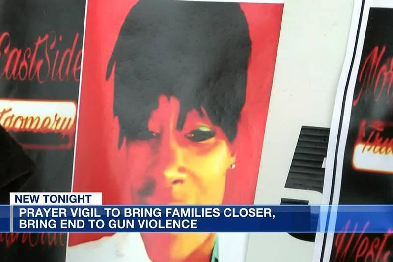 Prayer vigil to bring families closer, bring end to gun violence