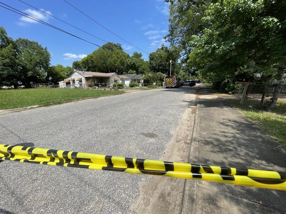 Two people are dead and a third is critical after a shooting on Rotary Street in north...
