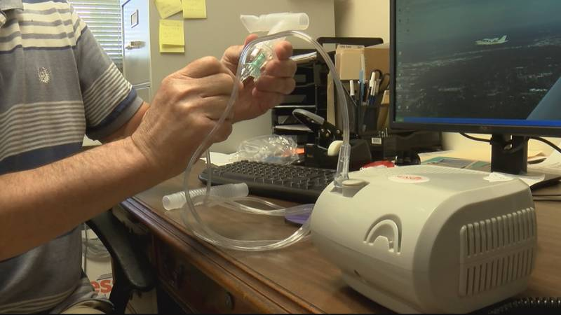 Midstate Medical Services said it is selling more nebulizers than ever before.