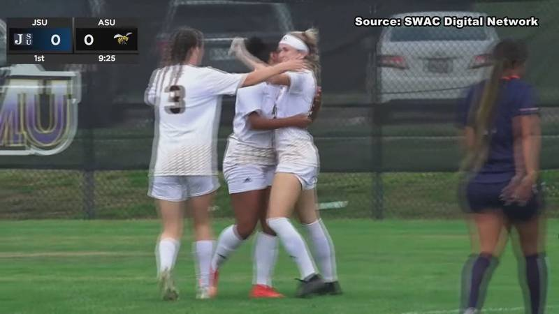 The Alabama State Soccer team will play Penn State in the opening round of the 2021 NCAA...