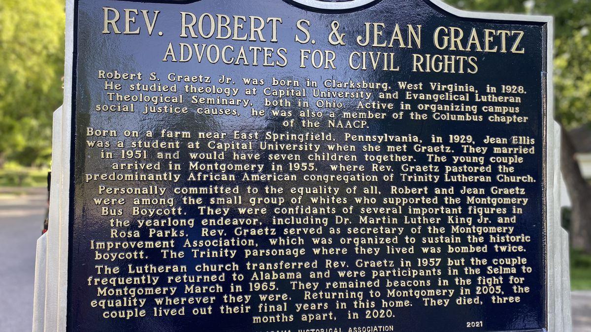 Graetz get historic marker in Montgomery