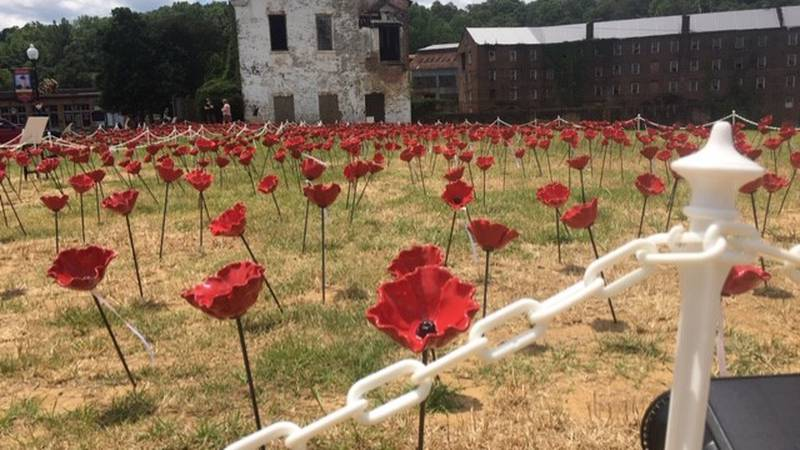 The Alabama Poppy Project was born out of a World One i poem 'In Flanders Fields.'