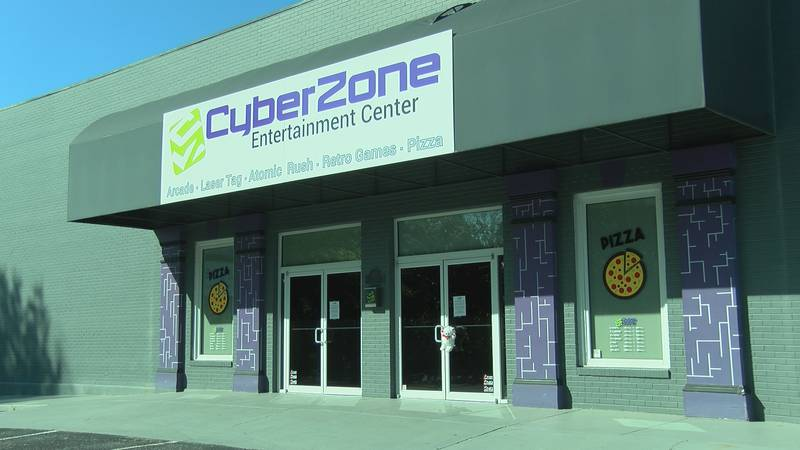 CyberZone making social distancing modifications as they prepare to reopen.