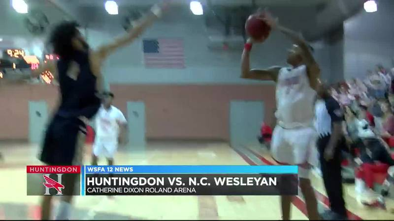 Huntingdon hoops falls at home to USA South opponent
