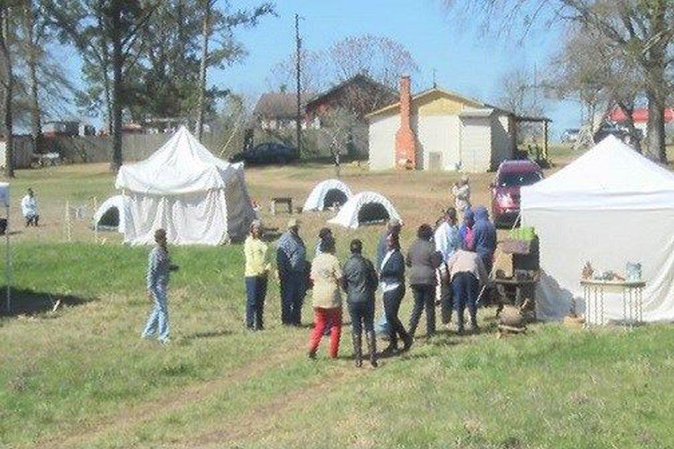 Tent City Re-enactment (Source: WSFA 12 News)