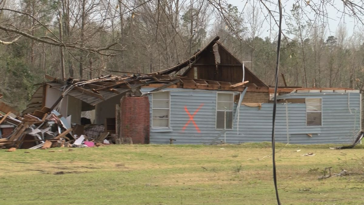At least 40 structures in Elmore County sustained damage after a possible EF-2 tornado touched...