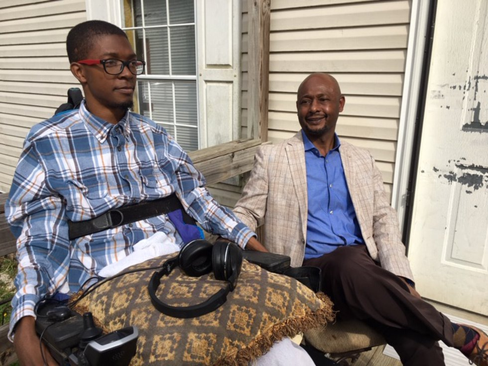 Travaris Smith uses a wheelchair and has to have 24/7 care after a wreck left his spinal cord...