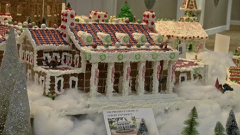 Hotel at Auburn unveiling gingerbread village for 10th year