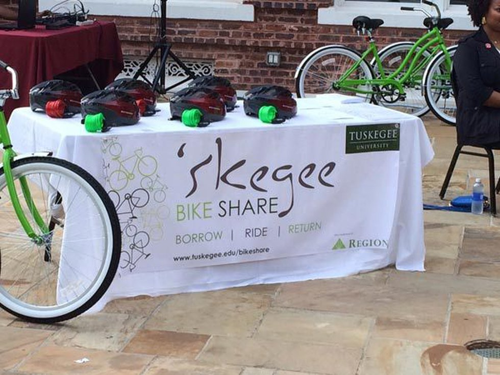 The program is being dubbed 'Skegee Bike Share. Students can check out a bike for up to eight...