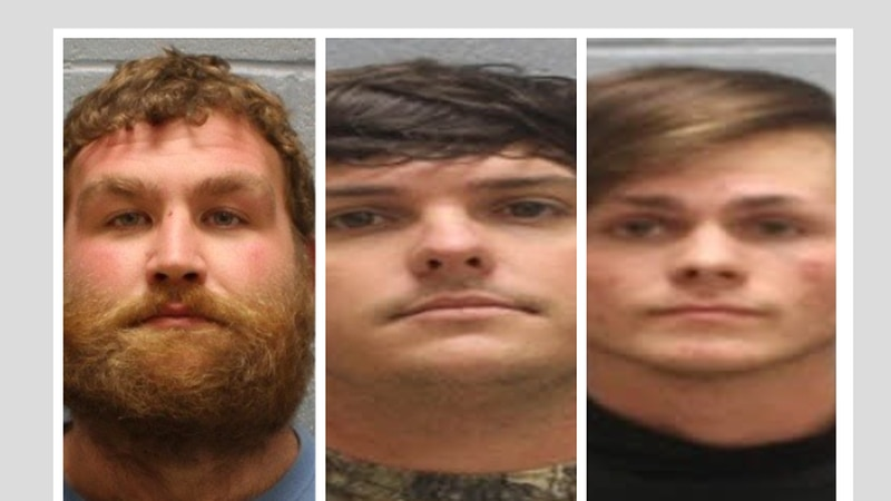 Three suspects arrested on robbery charges in Opelika