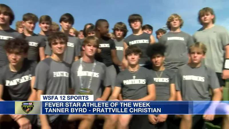 Prattville Christian's Tanner Byrd is Fever Star Athlete of the Week