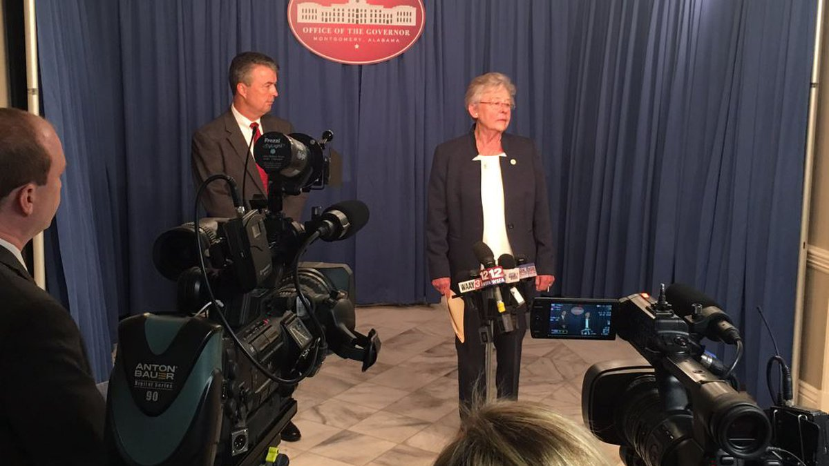 Gov. Kay Ivey has issued an executive order for a temporary moratorium on early parole...