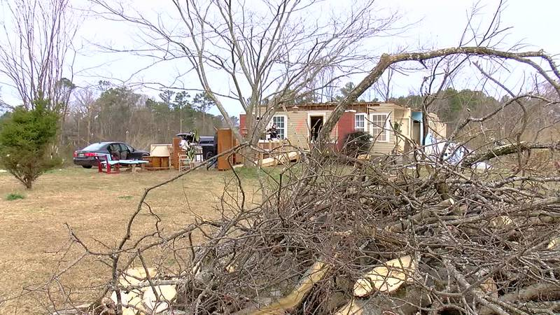 Fultondale clean up for woman who lost husband and home