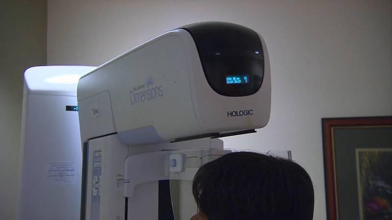 Mammogram machine