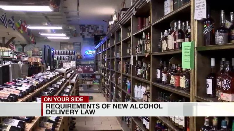 Requirements of new alcohol delivery law