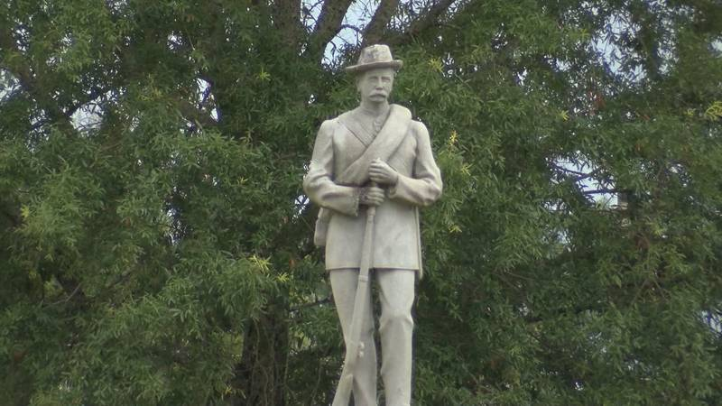 City  of Tuskegee and Macon County officials working to have confederate monument removed.