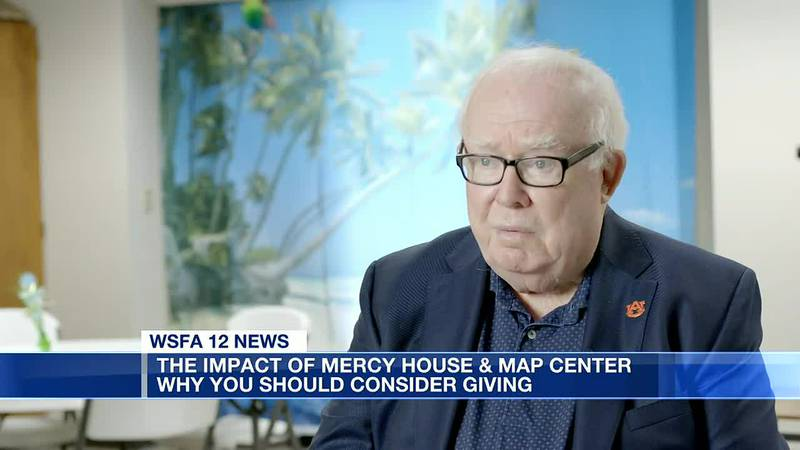 Cecil Spears shares why he supports Mercy House