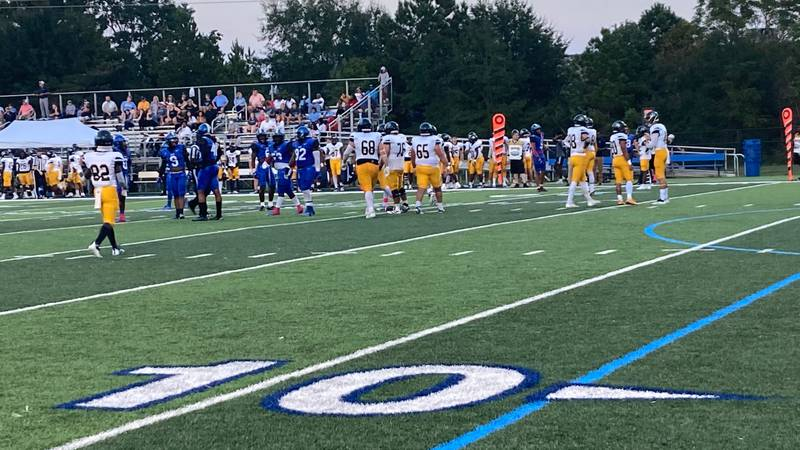 The Faulkner Eagles took down the Point Skyhawks Saturday.