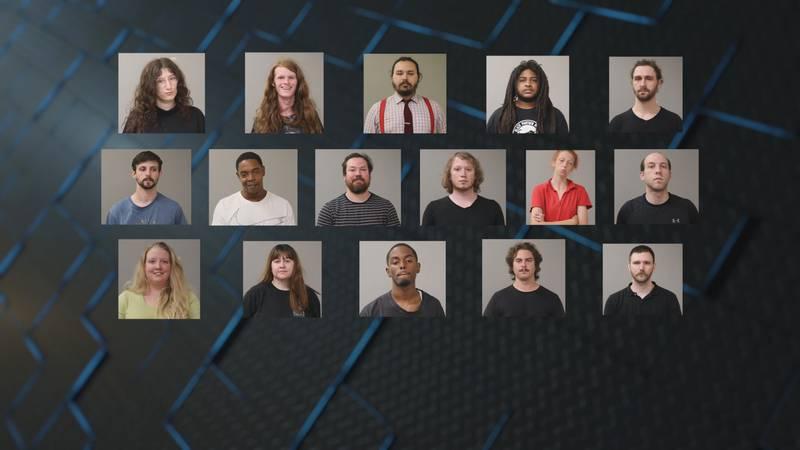 24 people arrested in Hunstville protest