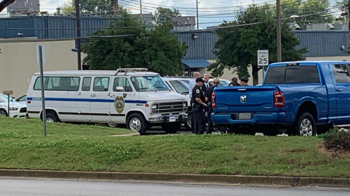 Body was in police van