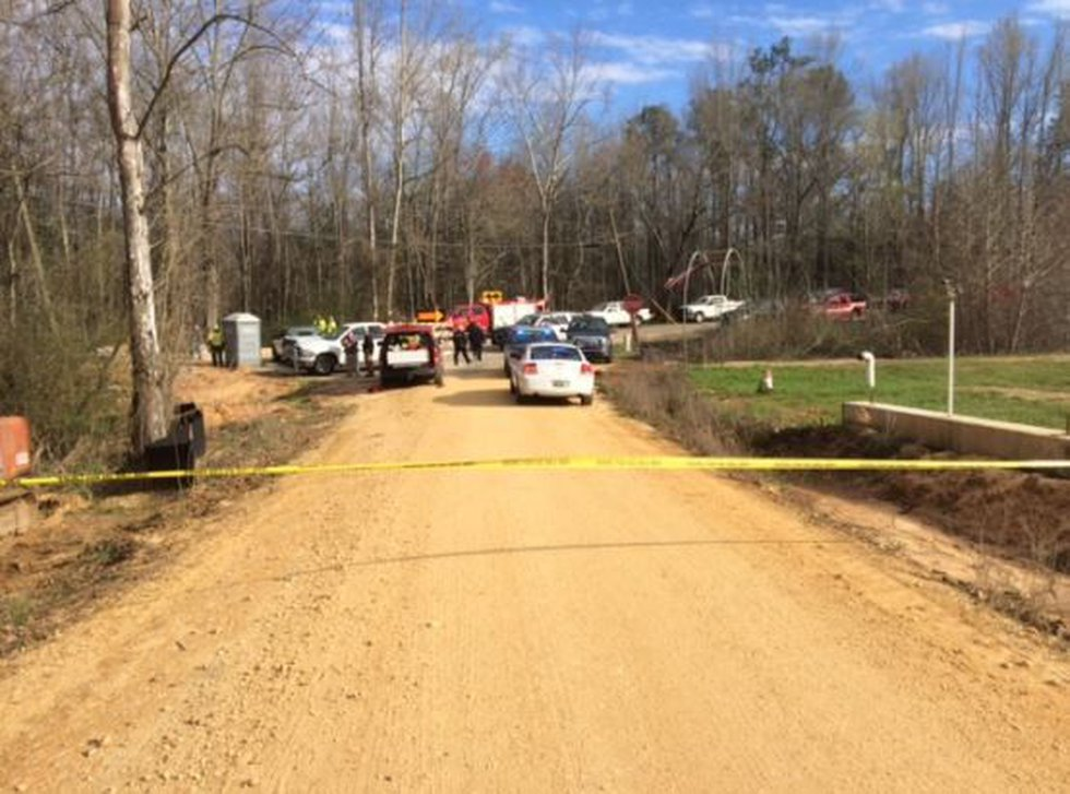 Scene of the March 16 crash. (Source: WSFA 12 News)