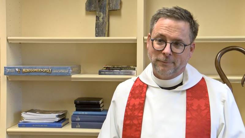 The Rev. John Leach was installed Wednesday as only the 16th rector in more than 180 years at...