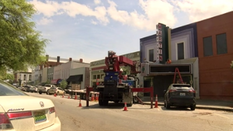 Renovations underway of Martin Theatre in Eufaula
