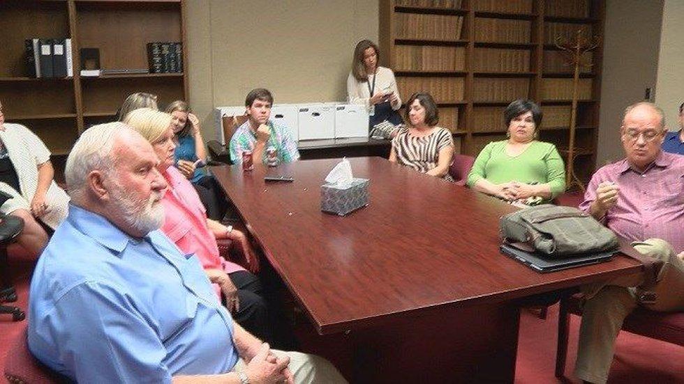 Clark's neighbors reacted to his guilty plea (Source: WSFA 12 News)