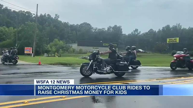 Montgomery Motorcycle Club rides to raise Christmas money for kids