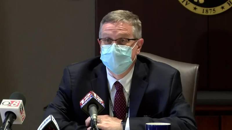 Dr. Scott Harris updates latest on Alabama's vaccine rollout
