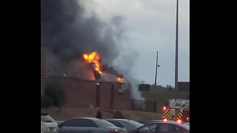 Lanett High School fire damages athletic facility