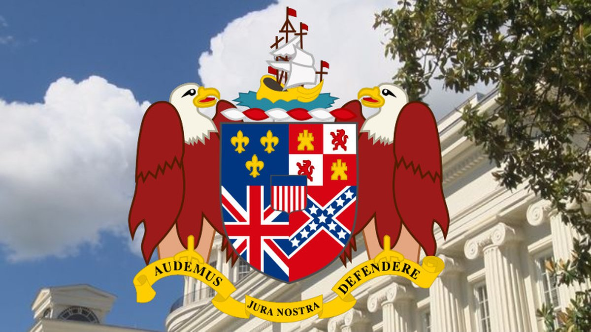 An Alabama lawmaker is looking to remove the Confederate flag from the state's coat of arms...