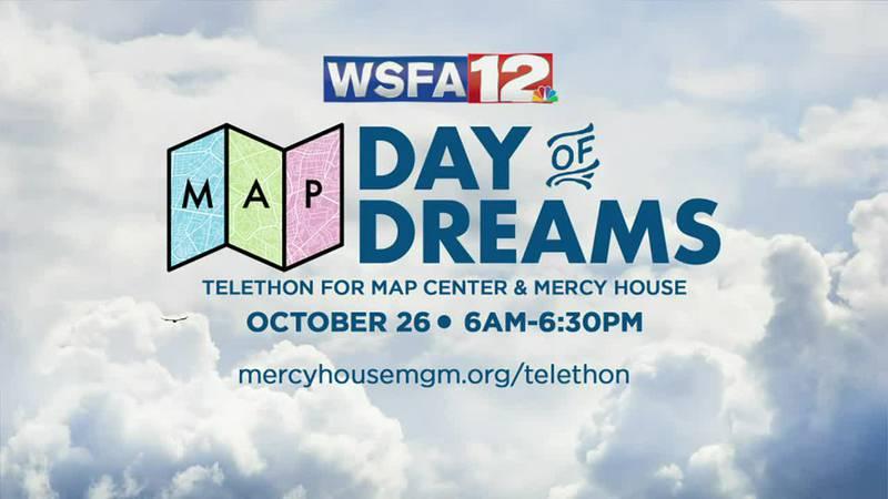 Mercy House, MAP, WSFA hosting telethon Tuesday