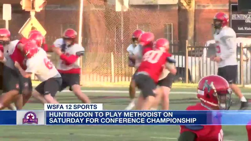 Huntingdon visits Methodist Saturday in USA South Athletic Conference title game