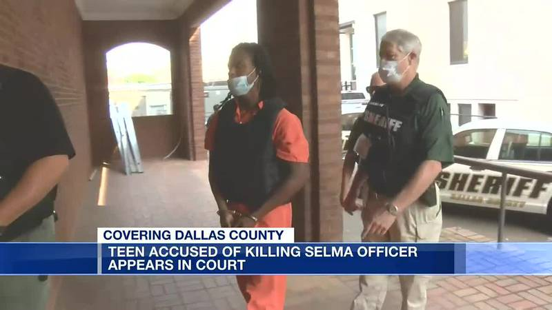 Suspect in Selma officer killing appears in court