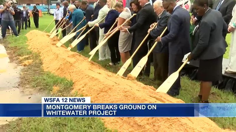 Montgomery breaks ground on whitewater project