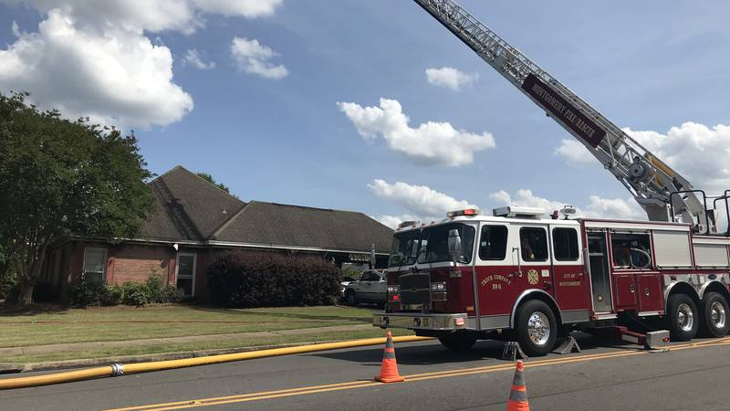 A fire caused heavy damage to a Greyfield Drive home Saturday.