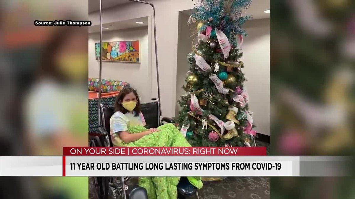 11-year-old still battling COVID symptoms
