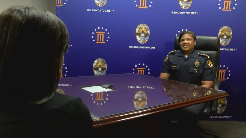The Montgomery Police Department has never had a Black female police chief, making Harris the...
