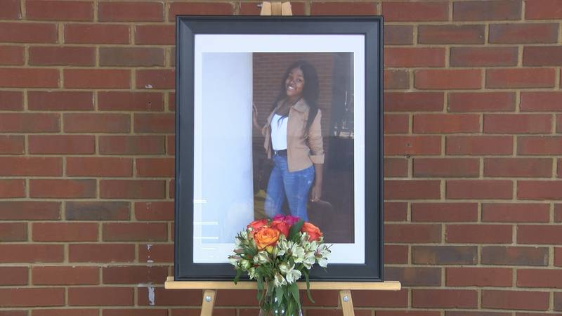 A vigil for Leiah Holmes was held at Alabama Christian Academy on July 13, 2021.